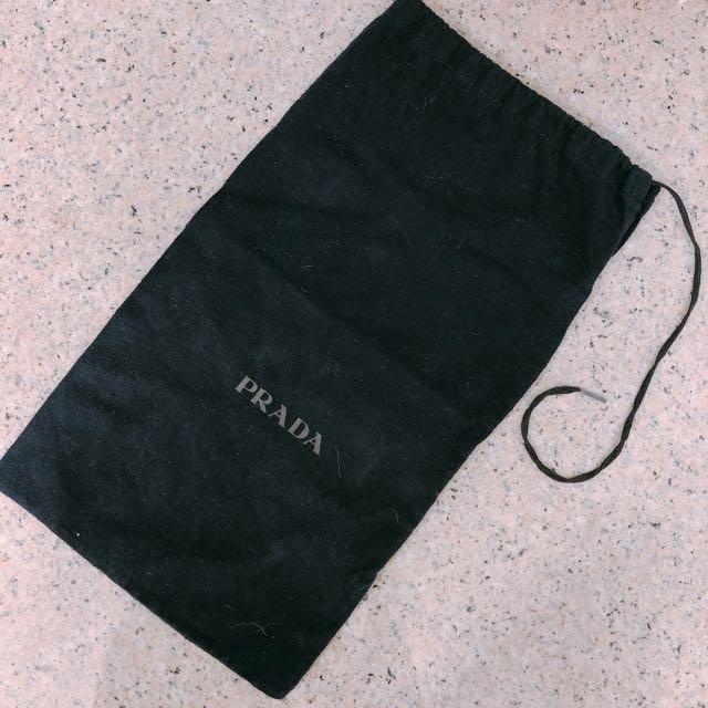 Authentic Prada dust bag