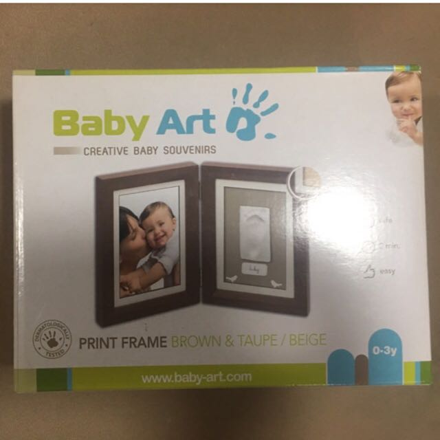 Baby Handprint Mold with Frame