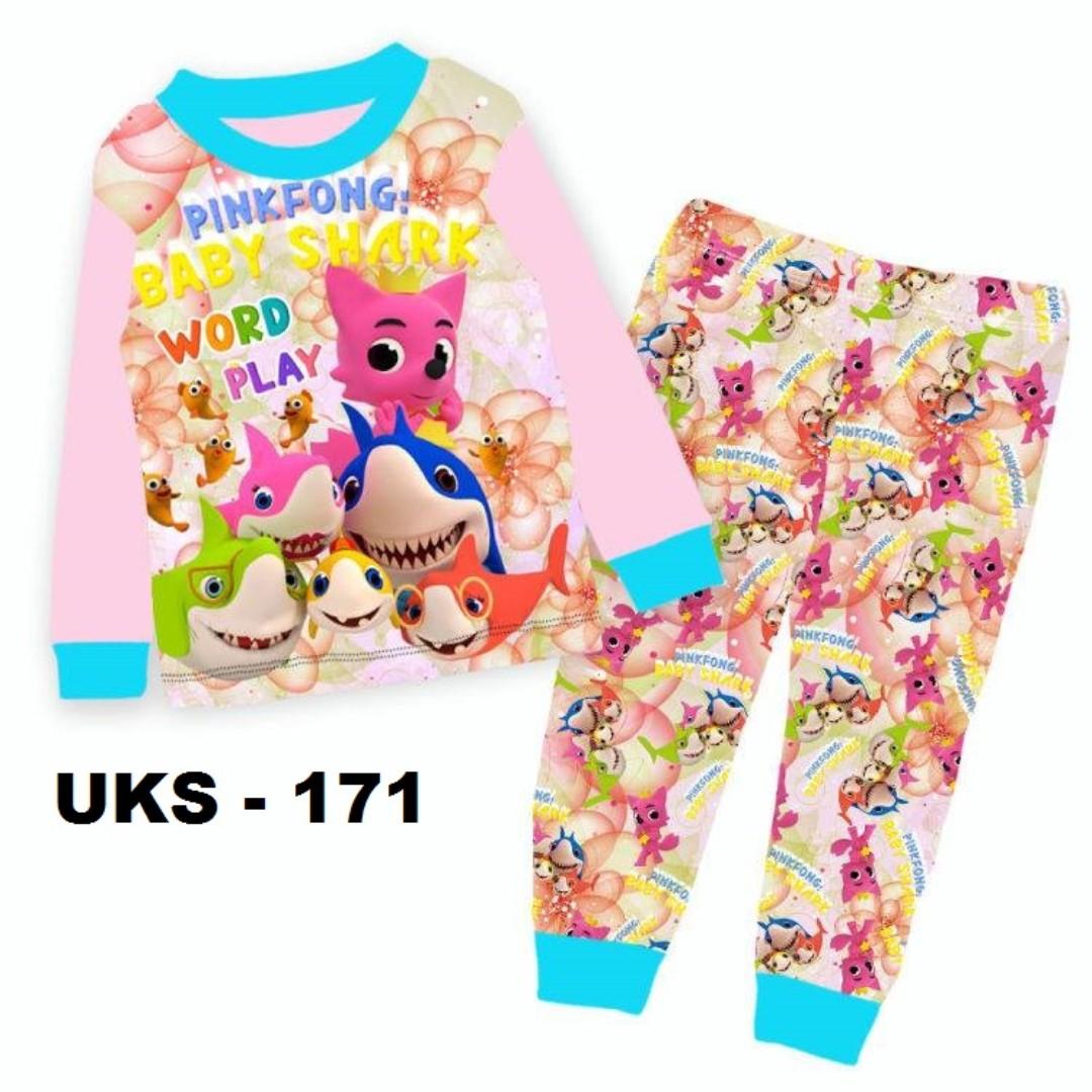 f2882f8b5 Baby Shark Long Sleeve Pyjamas For (2 Yrs To 7 Yrs)