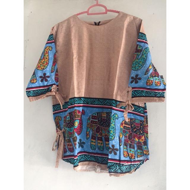 baju batik motif batik bangkok