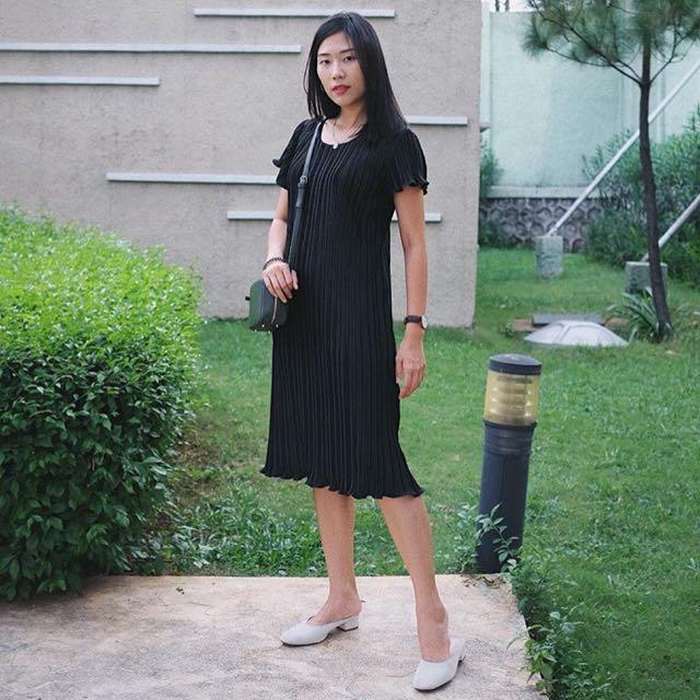 Basic Plisket Dress