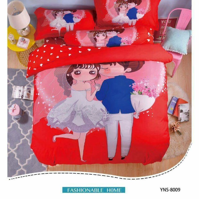 Bedsheet king/Queen 5in1 full set