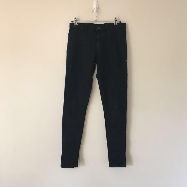 Black Jeggings / Jeans