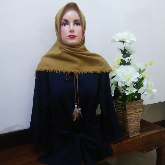 Blouse navy ikat