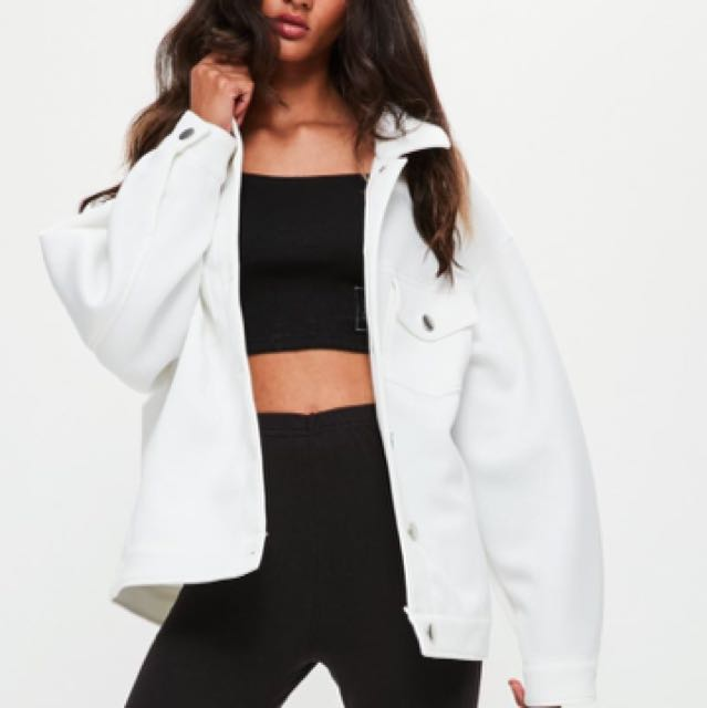 brand new White misguided jacket