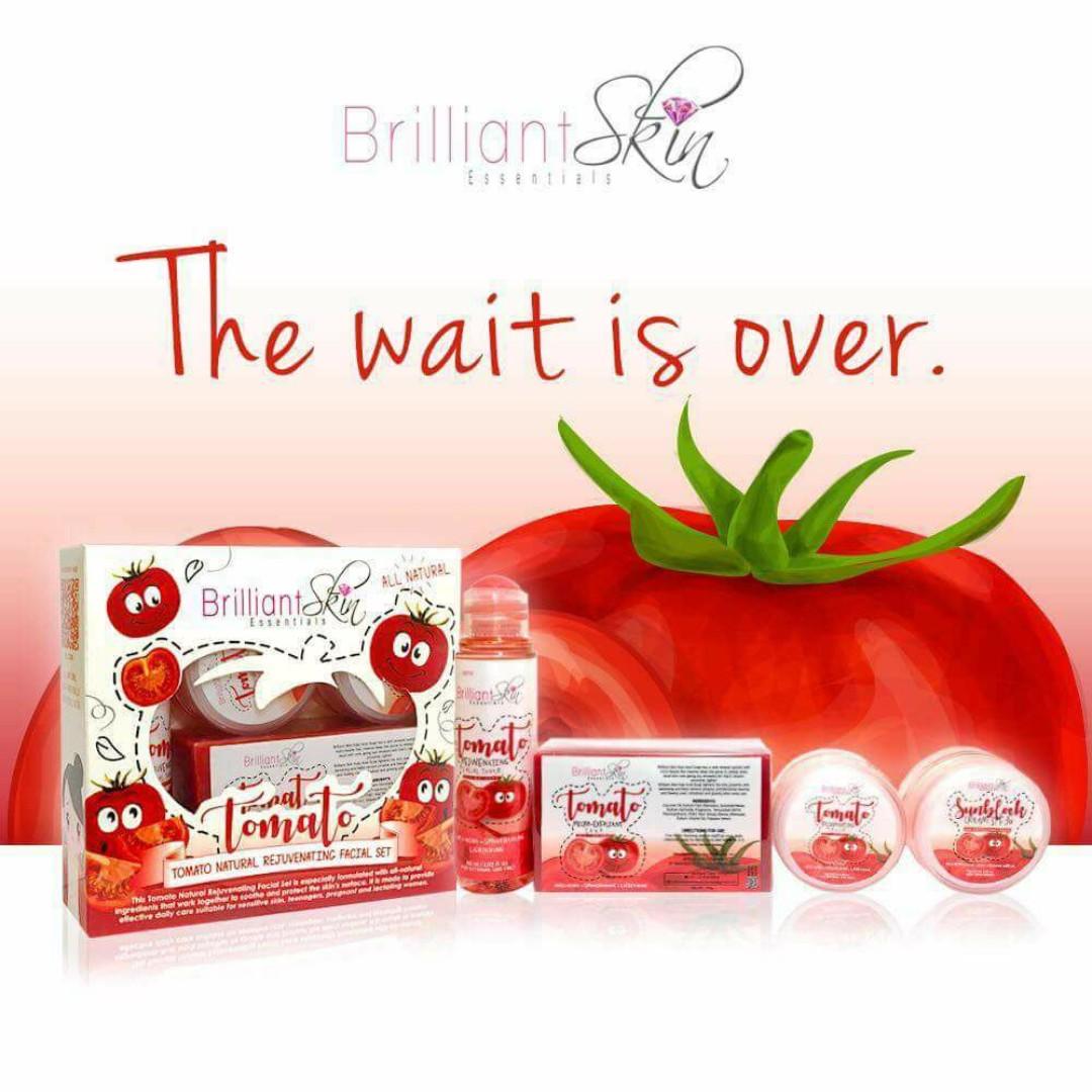 Brilliant Tomato Natural Rejuvenating Facial Set