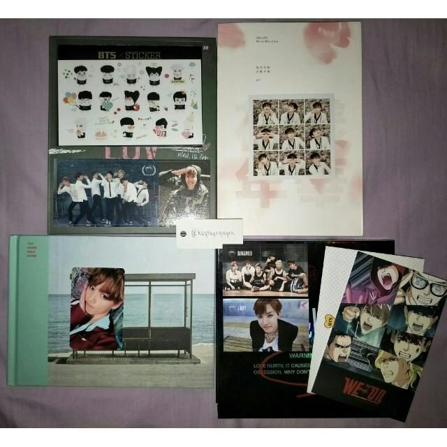 BTS ALBUMS + PCS