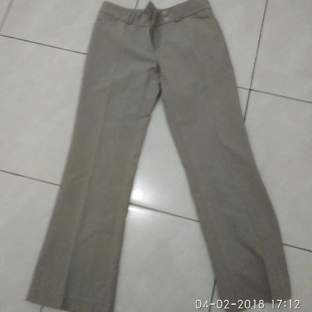 celana panjang kain size L