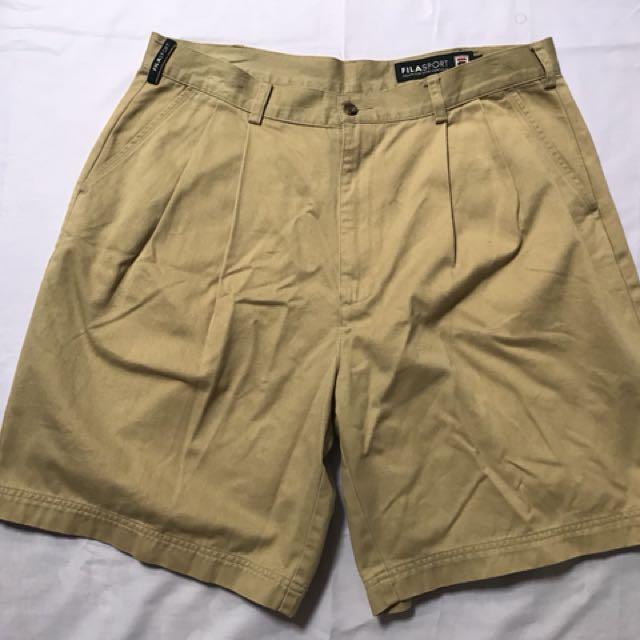 Celana Pendek short pants Fila