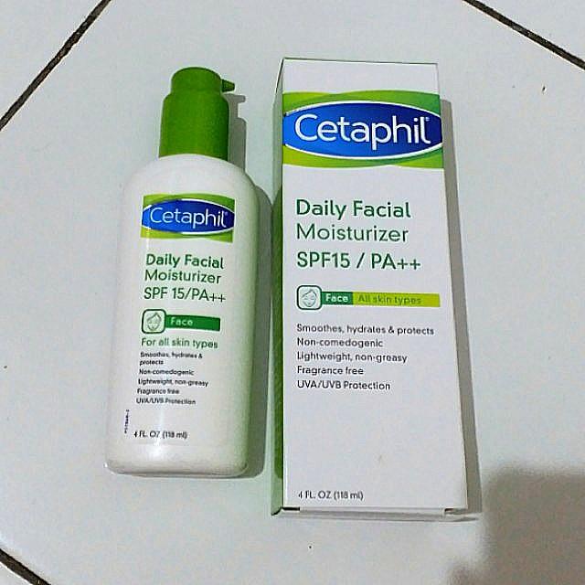Cetaphil Daily Facial Moisturizer SPF15/PA++, Health & Beauty, Skin, Bath, & Body on Carousell