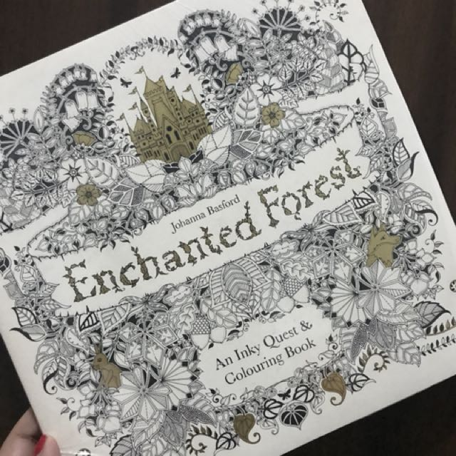 Coloring Book Enchanted Kingdom Design Craft Others On Carousell