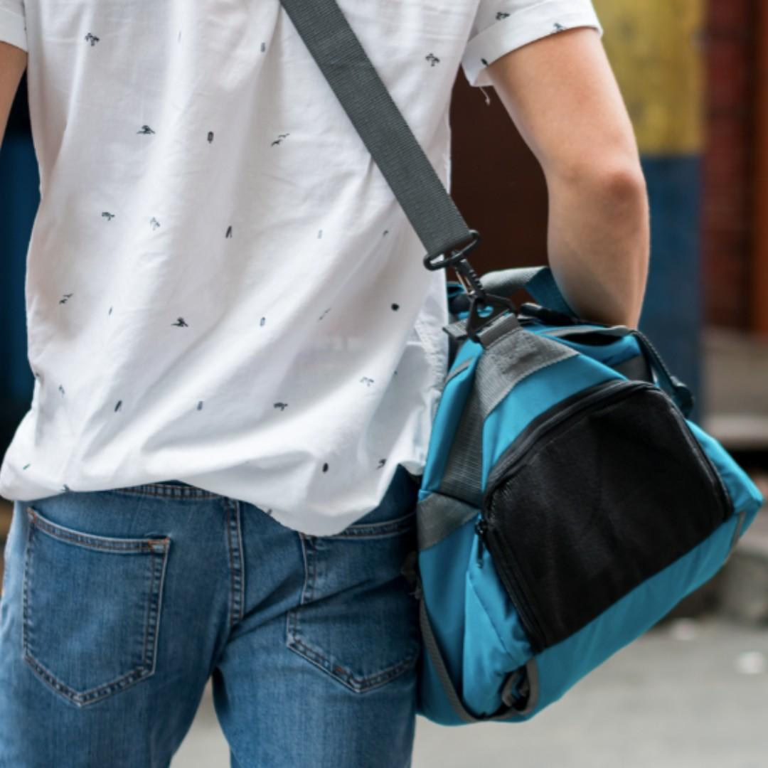 Convertible backpack and duffel bag