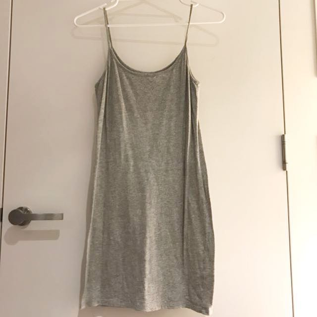 Country Road Gray singlet Dress
