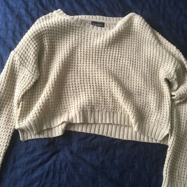 Cream Coloured Knit Long Sleeve