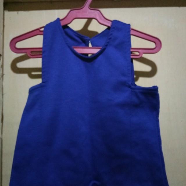 Crop top (blue)