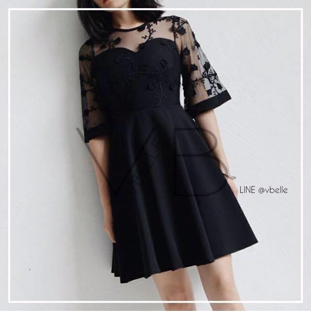 Elexa crochet dress