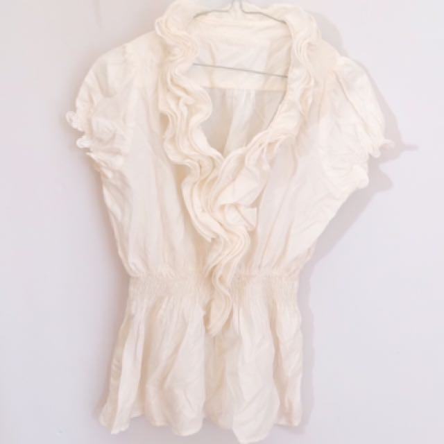Famous F N Co White Top
