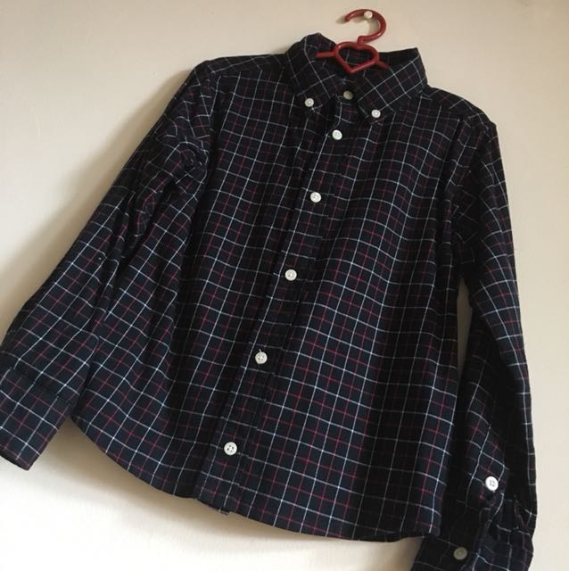 Flanel Boy's Shirt