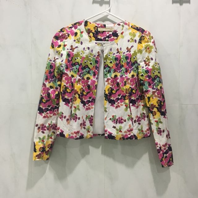 Floral jacket (very high quality and elegant)