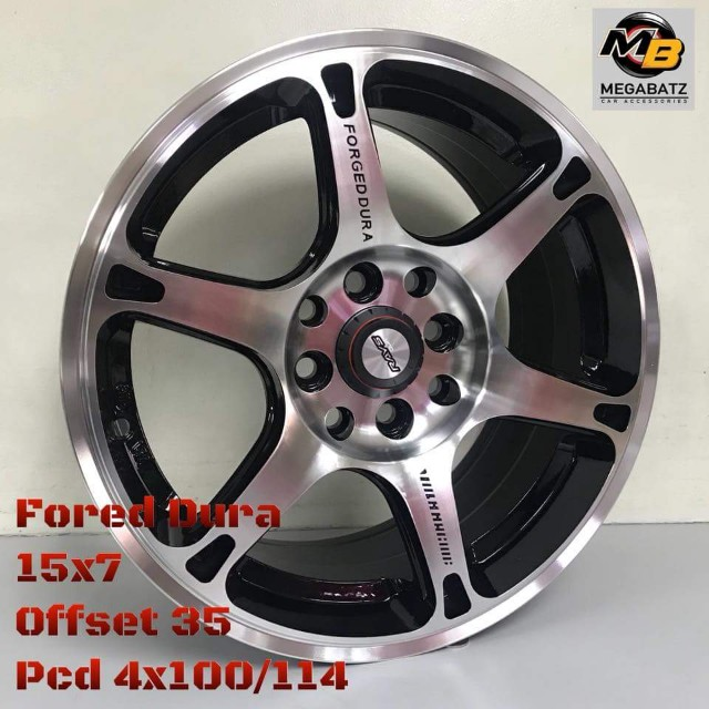"""FORGED DURA 15"""""""
