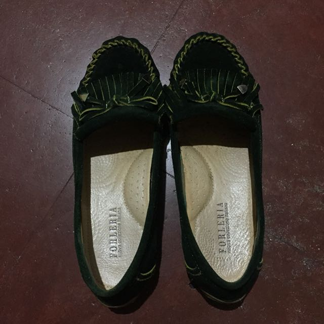 Forleria Moccasins Suede Shoes