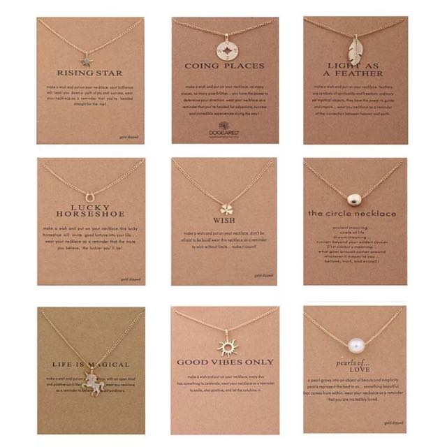 FREE SHIPPING Meaningful Necklaces