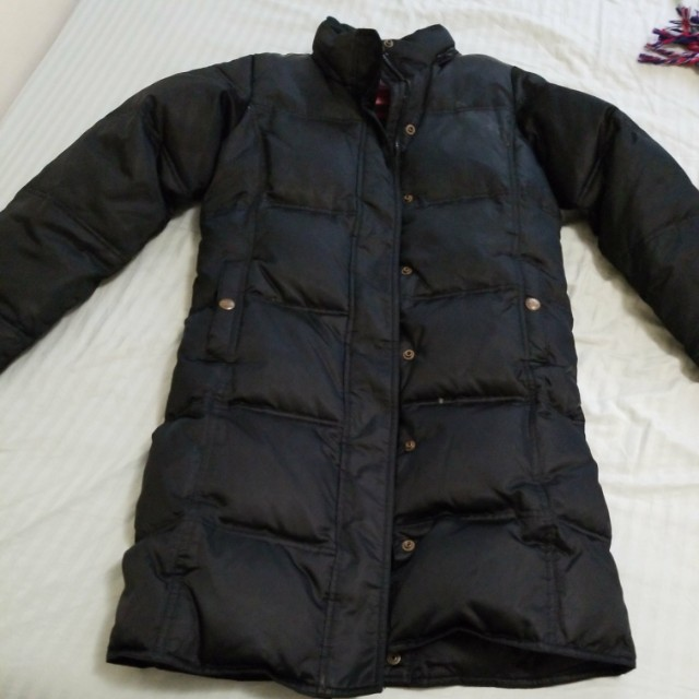 Gap winter down long jacket