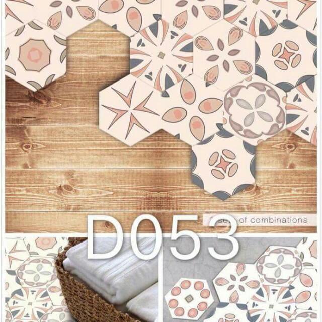 Geometric Style Hexagonal Wallpaper
