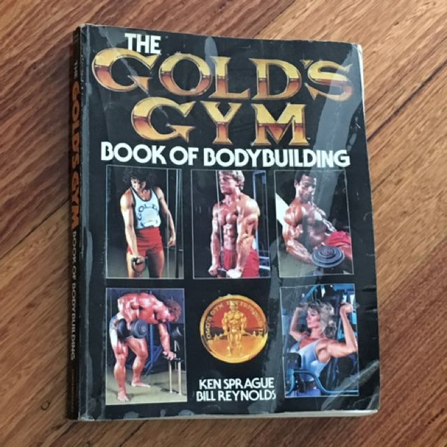 Golds gym book of bodybuilding