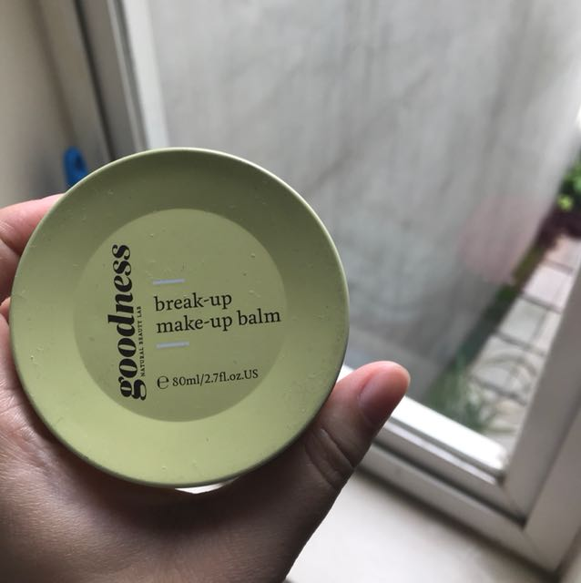 Goodness break-up make-up cleansing balm