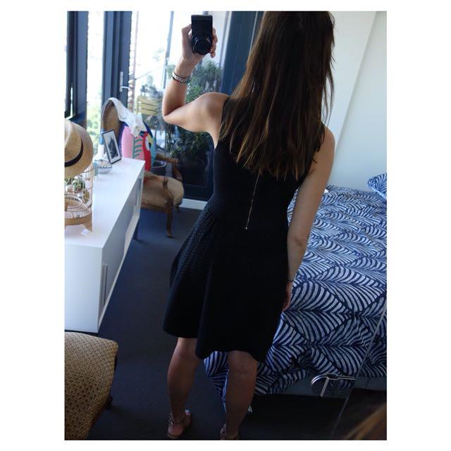 Gorgeous Sandro Black Dress (RRP $350)