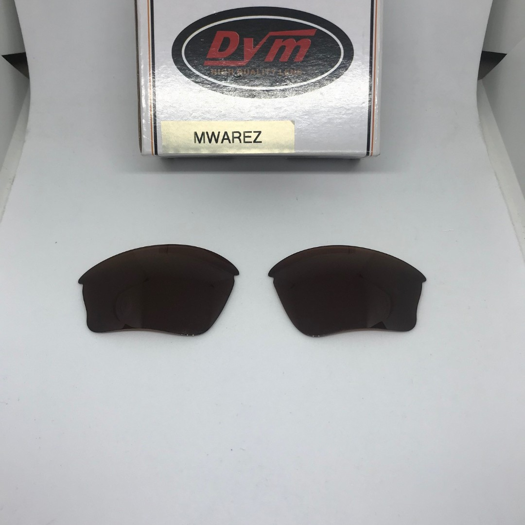 f1587793bc2b5 Half Jacket XLJ Brown POLARIZED DYM Replacement Lenses for Oakley ...