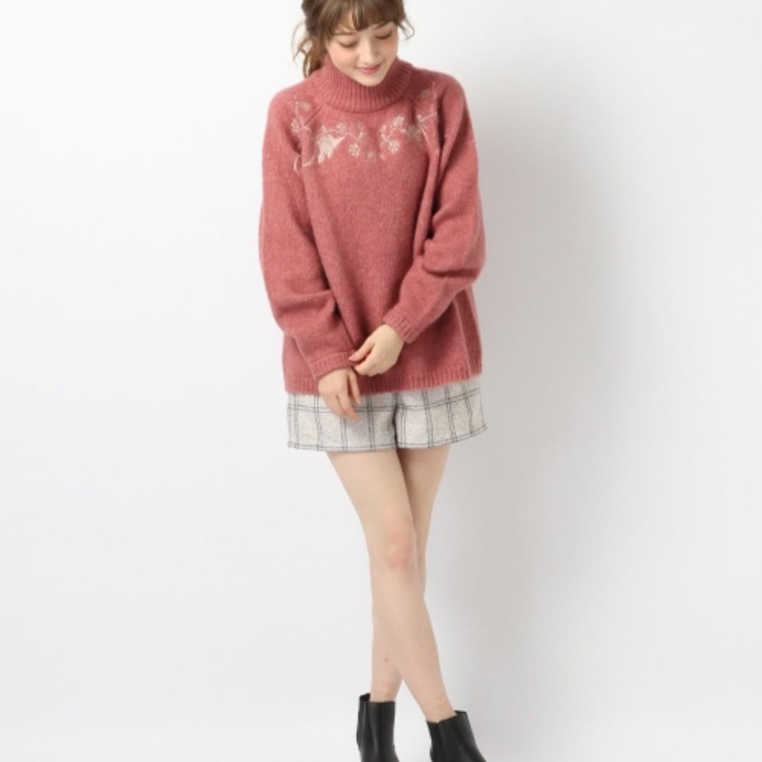 heather 顯氣色 超美梅紅 日本暢銷兩年 排行榜一名 point 高領毛衣