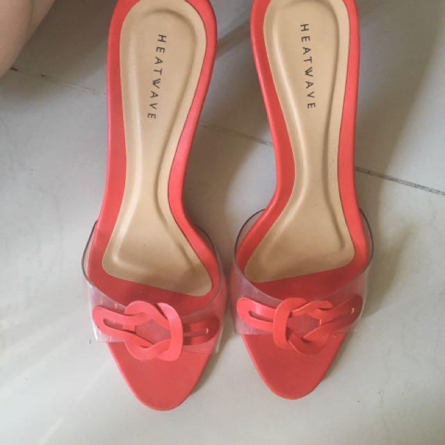 Heatwave sandal orange size 6