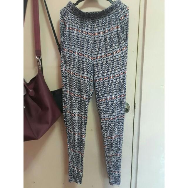 H&M aztec trouser
