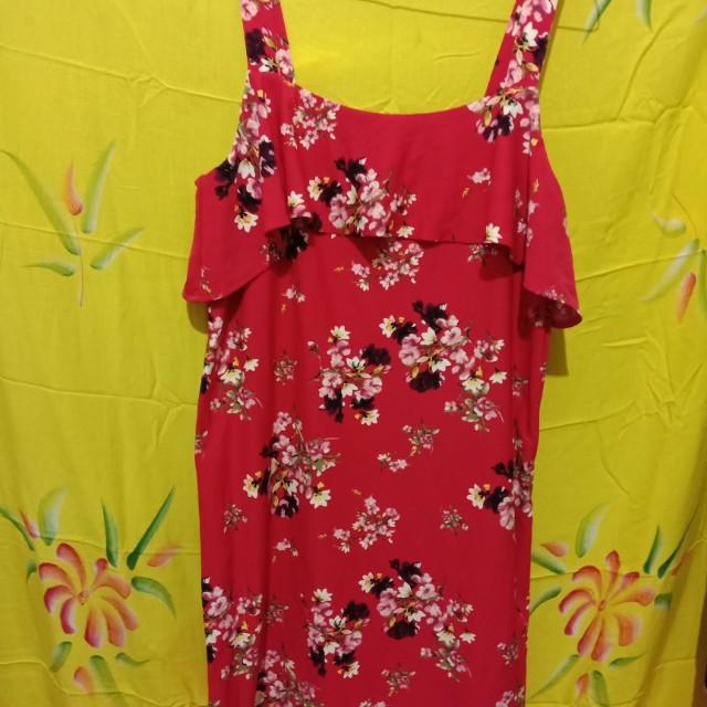 H&M Floral Dress (Pink)