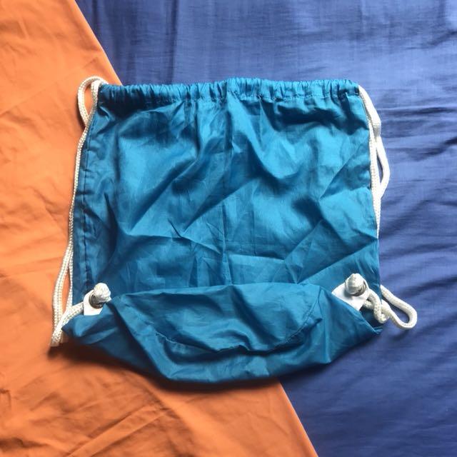 H&M STRINGBAG BLUE