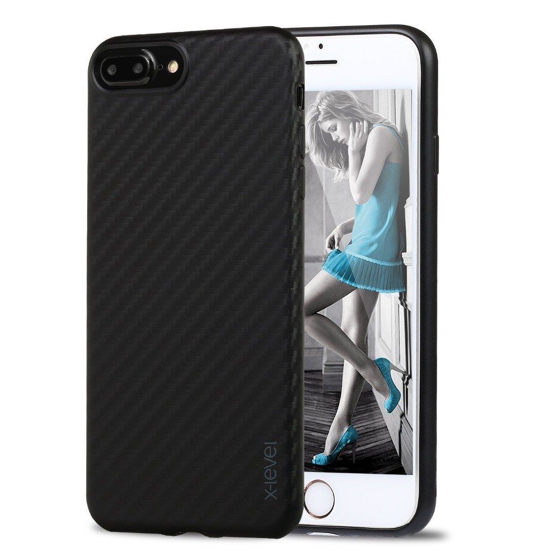 e5b7980eb384 iPhone 7 Plus Carbon Fiber Ultra Thin Case by X-LEVEL