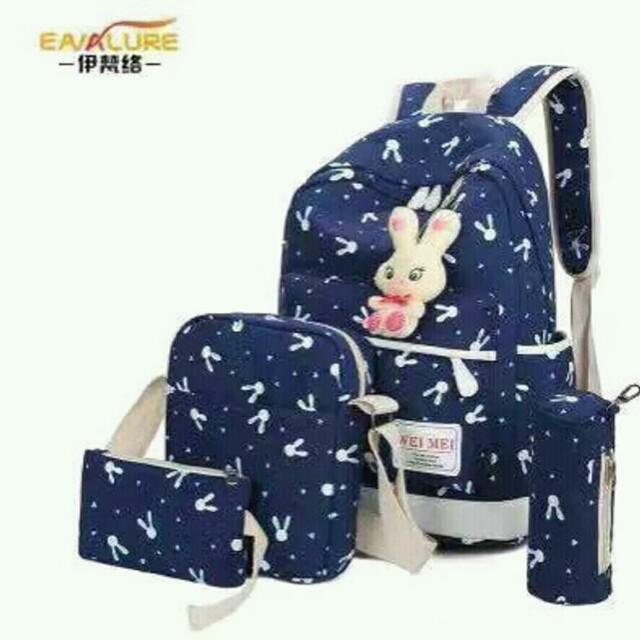 JA- Korean Bag 4in1