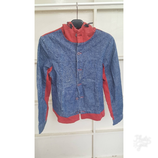 Jaket Jeans Red