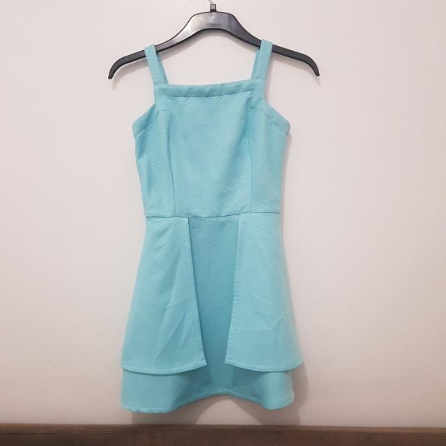 Just G Light Blue Dress