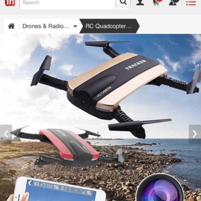 JXD 523 Pocket Drone with HD Camera!, Electronics, Others on