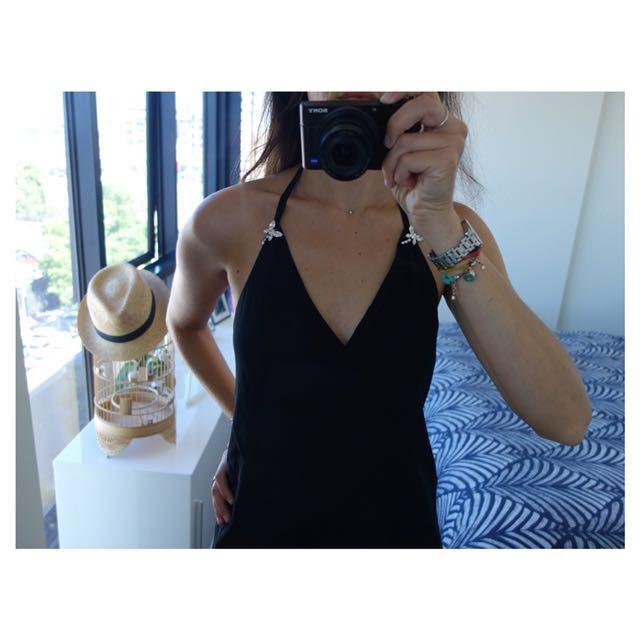 Keith Matheson Dress - Black, Size 12 (Deb Dress)