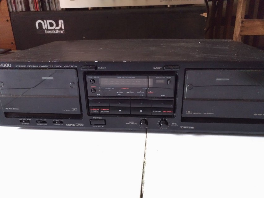 Kenwood stereo double cassete deck