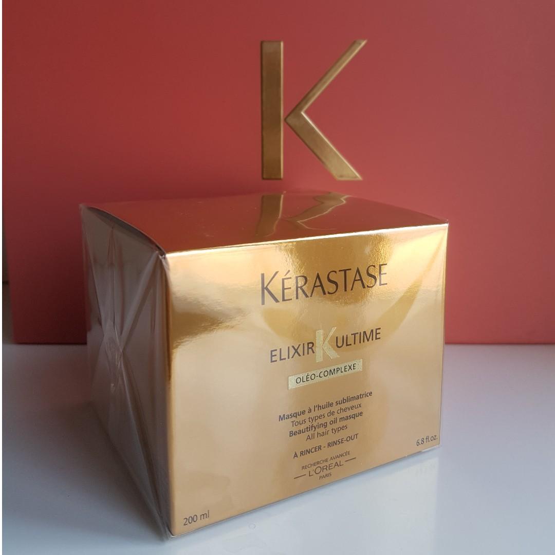 Kerastase Elixir Ultime Oleo Complexe Beautifying Oil Masque 200ml
