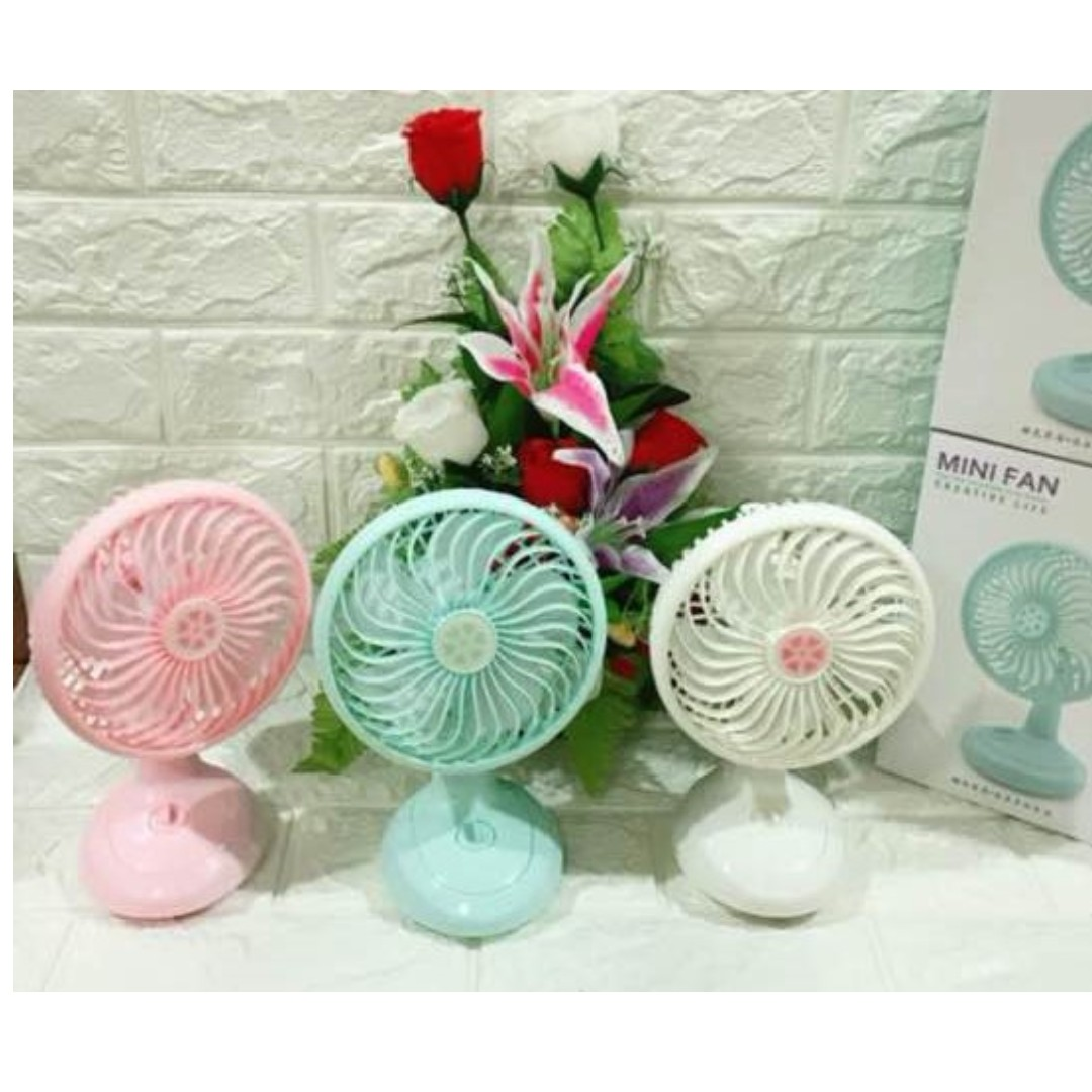 Kipas Mini Stand Portable Fan Electronics Others Fortable On Carousell