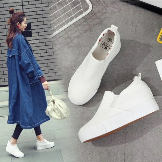 Korean shoes hidden wedge