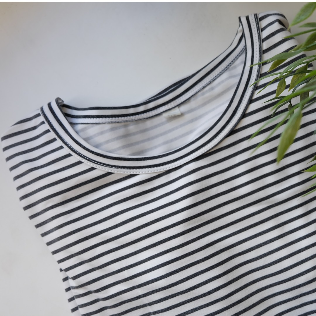 Korean Striped Tee