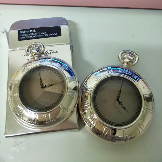 Labiotte懷舊時光小懷錶腮紅#4:00p.m.