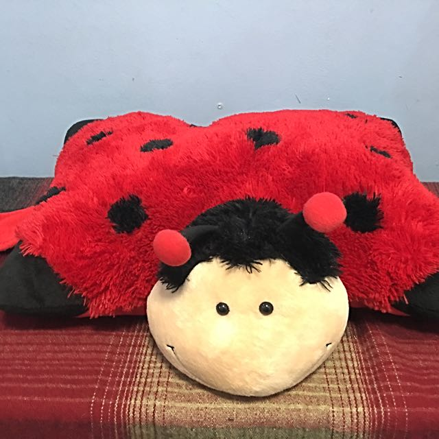 Lady Bug stuffed toy/pillow